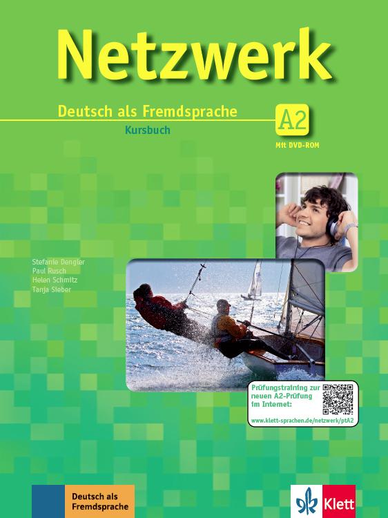 Netzwerk A2, Paket buku (Kursbuch mit DVD-ROM dan Arbeitsbuch mit MP3-Audiodateien)
