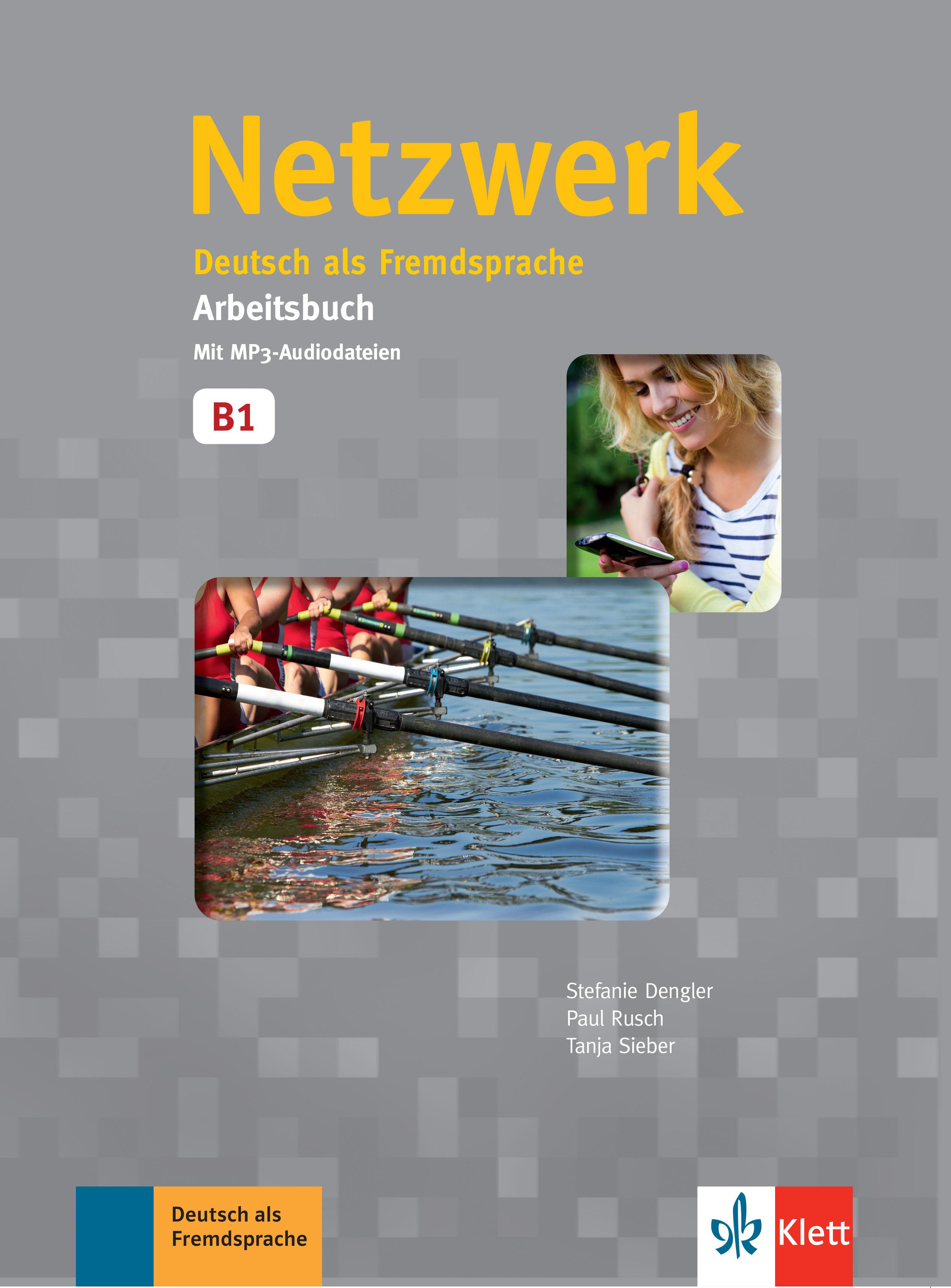 Netzwerk B1, Paket buku (Kursbuch mit DVD-ROM dan Arbeitsbuch mit MP3-Audiodateien)